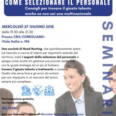 Seminario: Recruiting - Come selezionare il personale