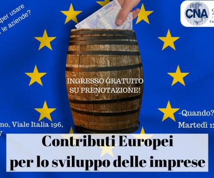 Contributi Europei per lo Sviluppo delle Imprese