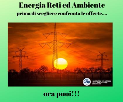 ENERGIA: NUOVO PORTALE