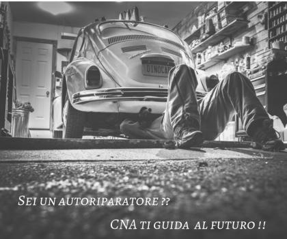 Sei un autoripartore? CNA e QUATTRORUOTE  ti guidano NEL FUTURO!!!!